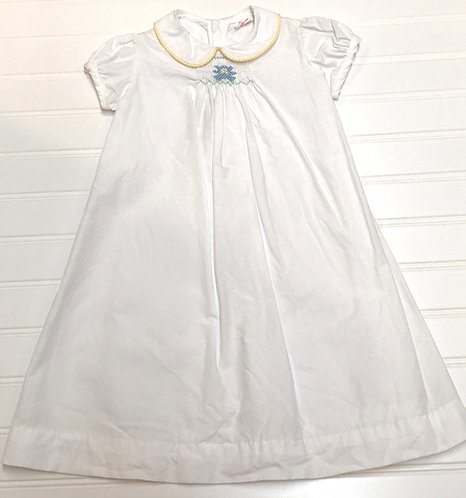 Smocked Gown Size 3-6 months