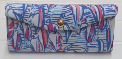 Lilly Pulitzer Collapsable Sunglasses Case
