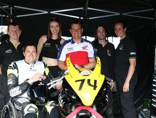 John McGuiness visits Talan Racing