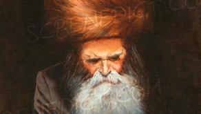 """Painting of Rav Breisch zt""""l"""