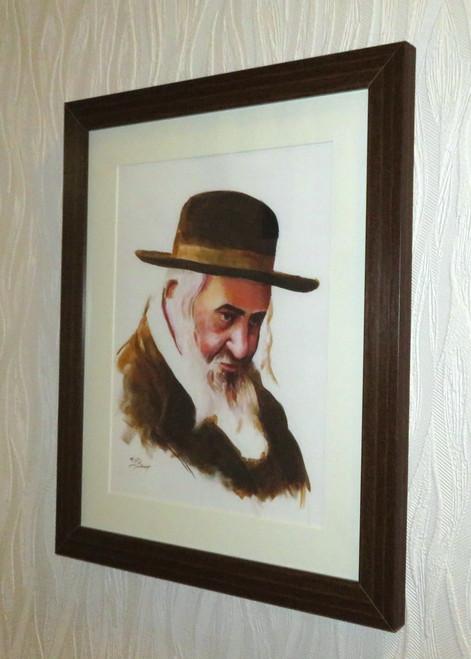 R Shayale framed