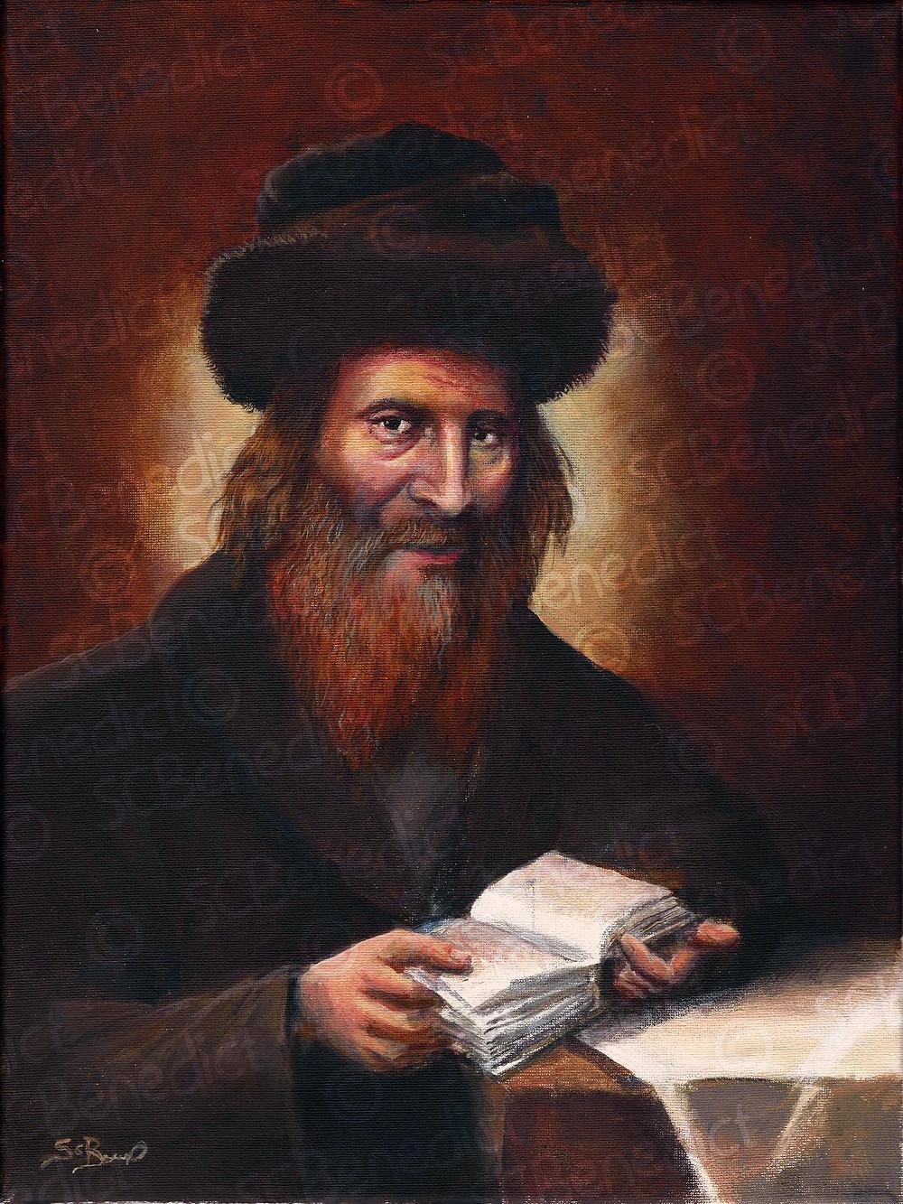 Chasam Sofer - חתם סופר painting by s c benedict