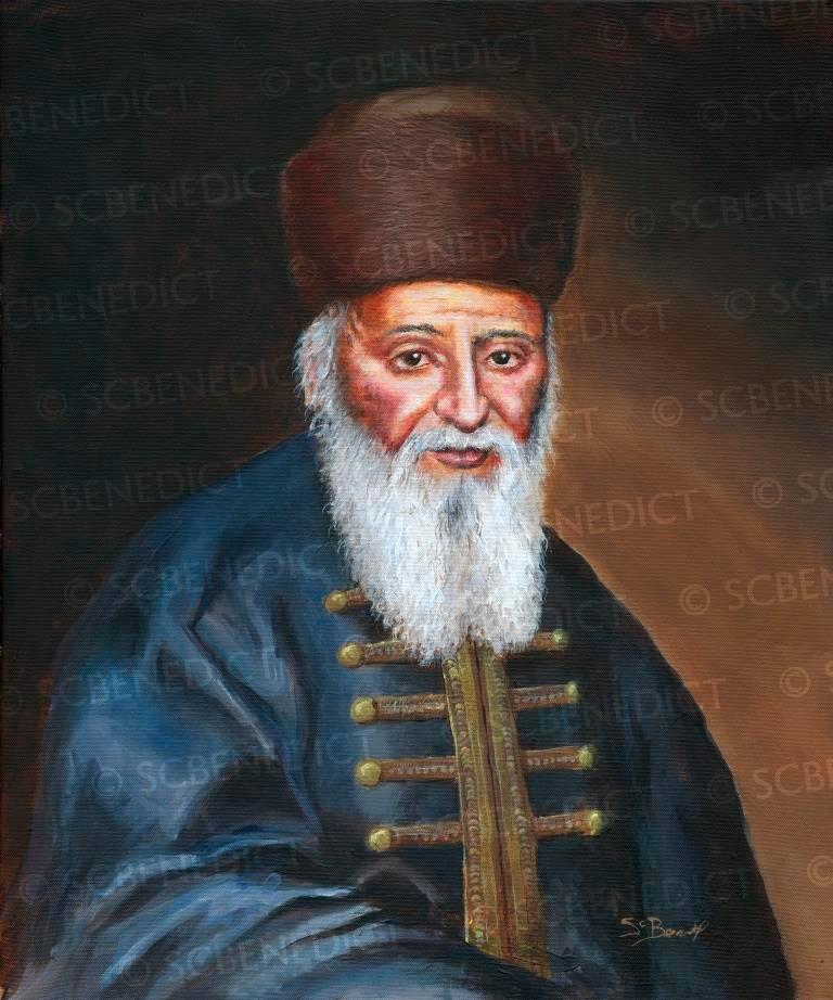 Rabbi Yechezkel Landau | Noda Beyehuda | נודע ביהודה