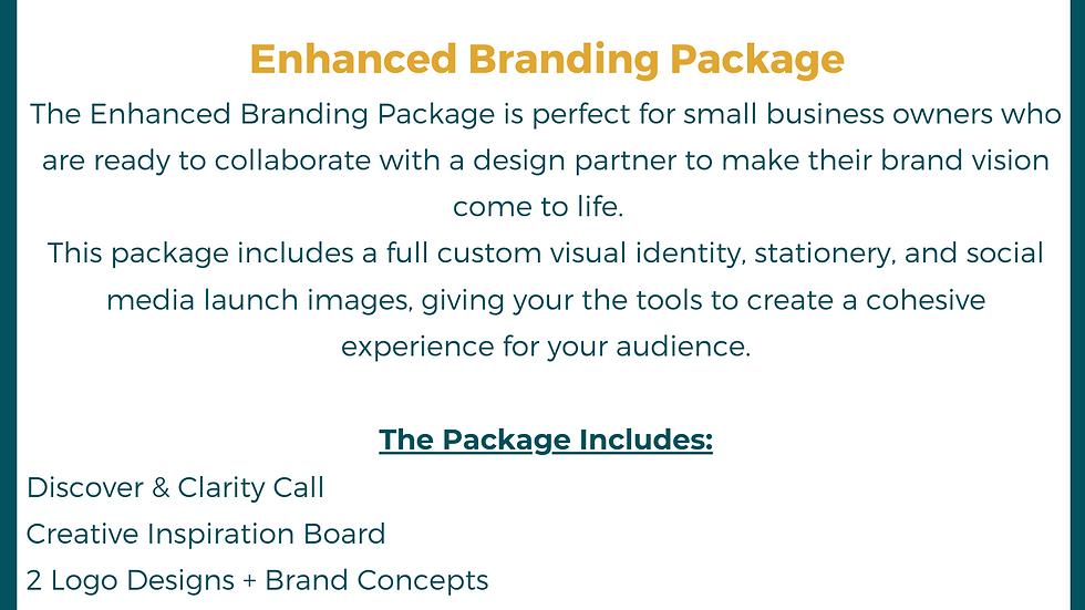 Enhanced Branding Package