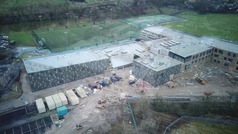 Glossopdale Community College (Drone 2 of 2)