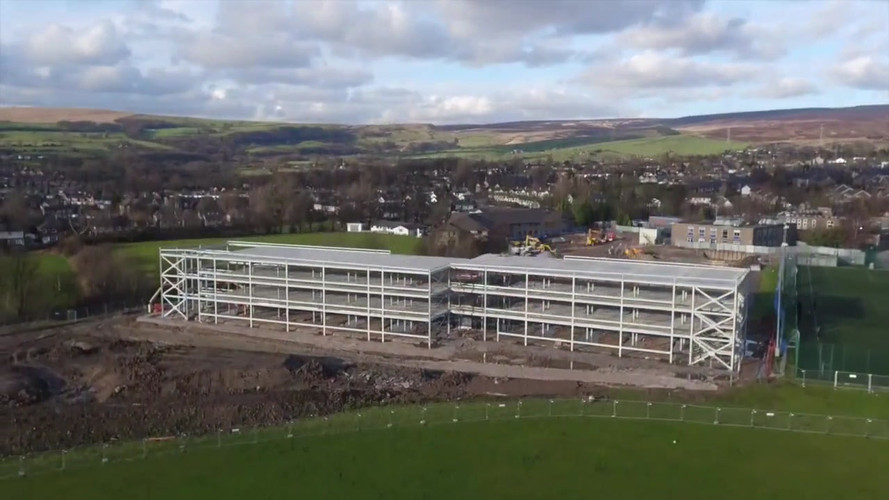 Glossopdale Community College (Drone 1 of 2)