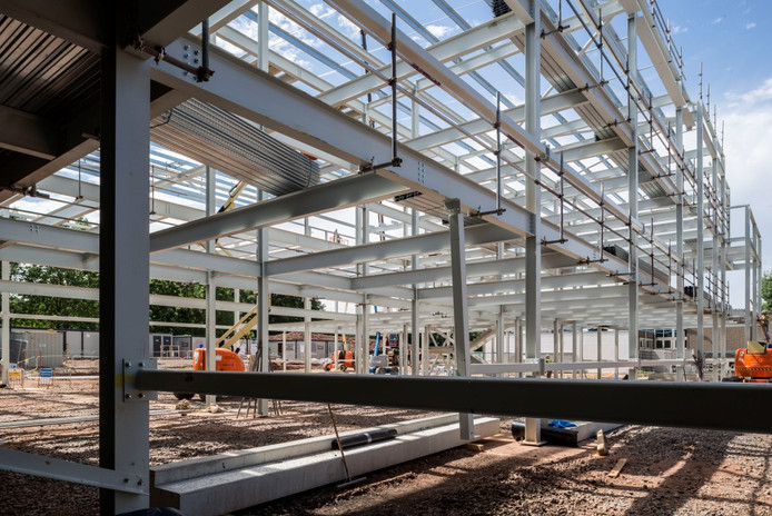 Glossopdale Community College (Steelwork) 2 of 7-Me