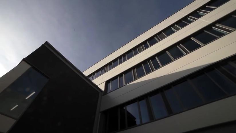 Derby University, The Stem Building Time Lapse