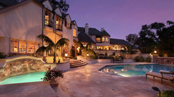 exterior-designs-marvelous-mansions-with-pools-ideas-with-stone-wall-and-outdoor