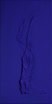 Figure in Ultramarine Blue 02