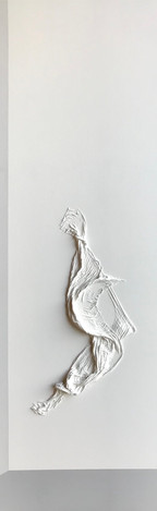 Figure in White on White with Greys 02
