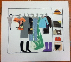 Summer Art Camp in Progress: What's in the Closet?