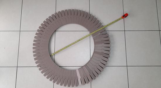 Banda transportadora de tablillas - en círculo