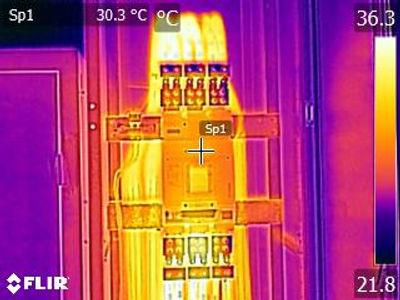 Imagen termográfica con cámara Flir Guatemala Tipsa