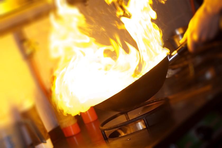 Chef Fazendo Flambe