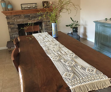 Macramé  Table Runner