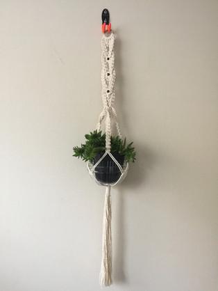 Braided Plant Holder