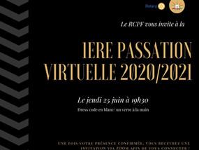SOIREE DE PASSATION 2020/2021