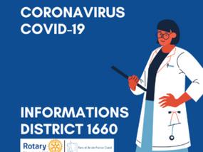 COVID 19 - les actions du RCPF