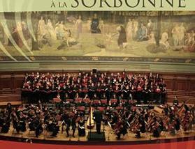 Concert à la Sorbonne le 23 janvier 2017