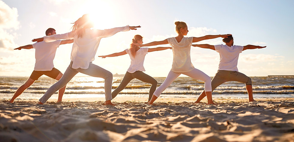 om&thrive_yoga group by the sea