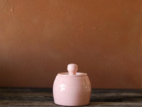 Delicate Daisy Jar w/ Lid
