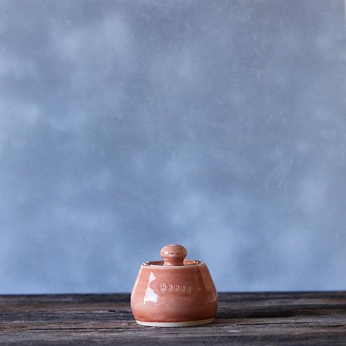 Terra Cotta Honey Pot