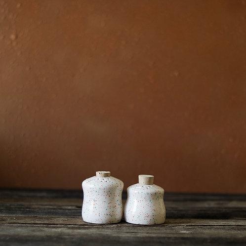 Star Burst Salt & Pepper Shaker Set