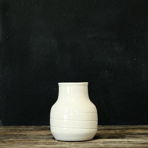 White Petal Vase