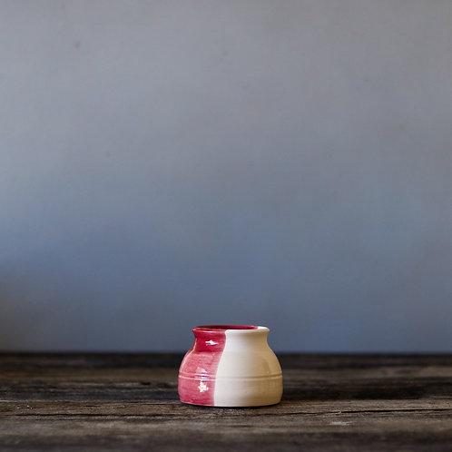 Cherry Red Sunset Pot