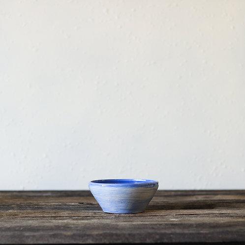 Cloudy Blue Bowl