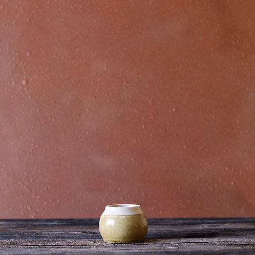 Antique Wood Pot
