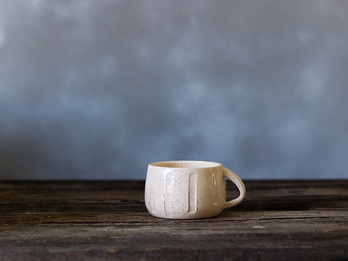 Striped Cream Mug