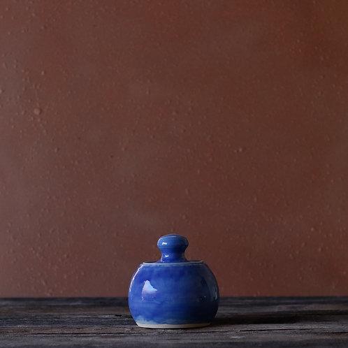 Ocean Blue Jar