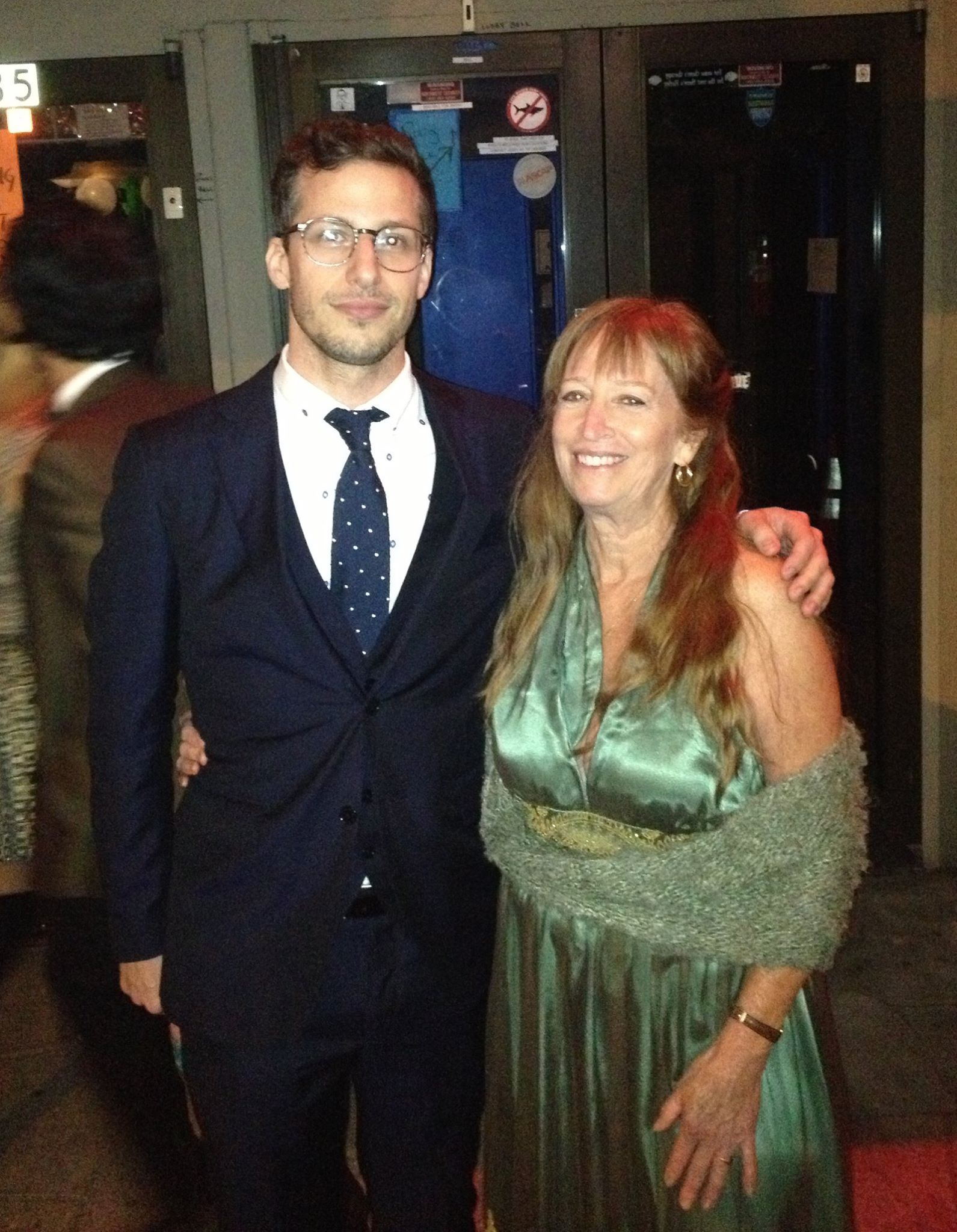 Andy Samberg and Debra