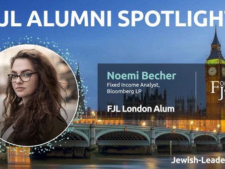 Alumni Feature: Noemi Becher on Hanukkah and our Ideological Survival