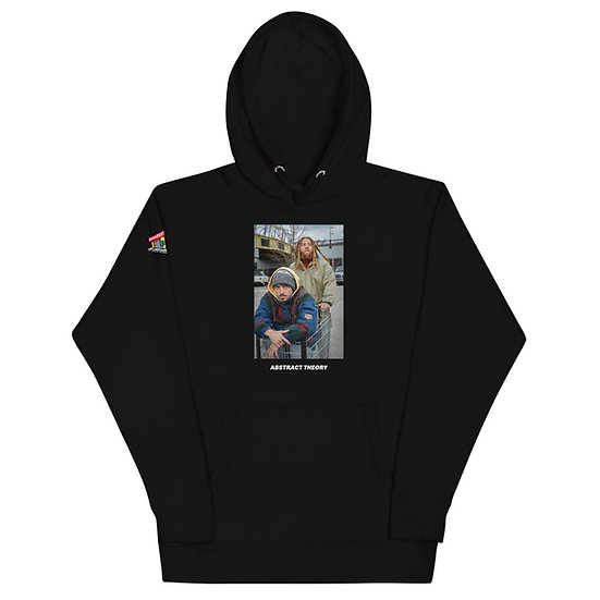 Abstract Theory/Bankrupt Bodega Collaboration Unisex Hoodie
