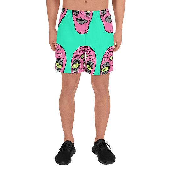 Krusty Vibez Men's Athletic Long Shorts