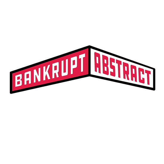 At The Corner Of Bankrupt & Abstract Holographic Sticker
