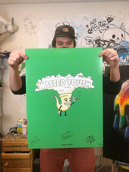 Official Wasted Youth Poster