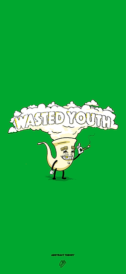 FREE Wasted Youth Phone Wallpaper