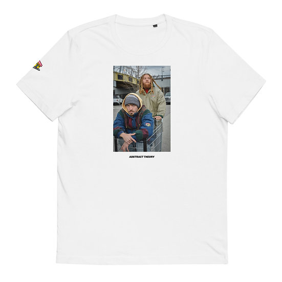 Abstract Theory/Bankrupt Bodega Cart Collaboration Unisex Organic Cotton T-Shirt