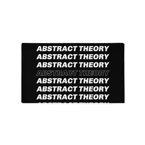 Abstract Theory Pillow Case