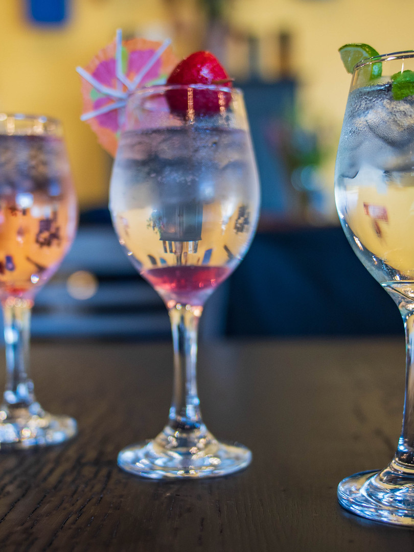 Specialty drinks at MontaVino