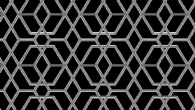 Background of gold geometric pattern
