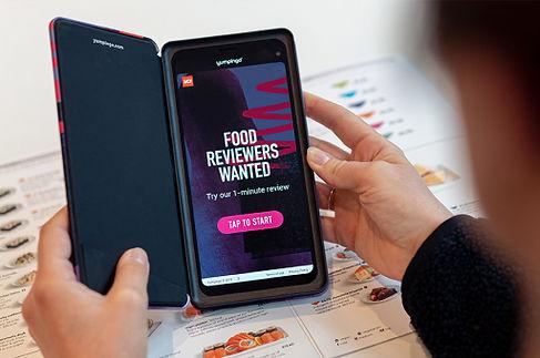mobile device using yumpingo app.jpg