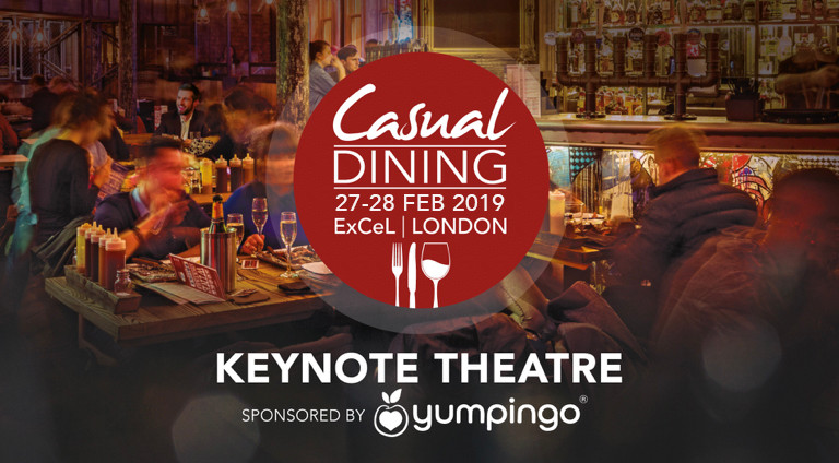 Casual Dining Show advert - 27-28 Feb 2018 at Excel in London