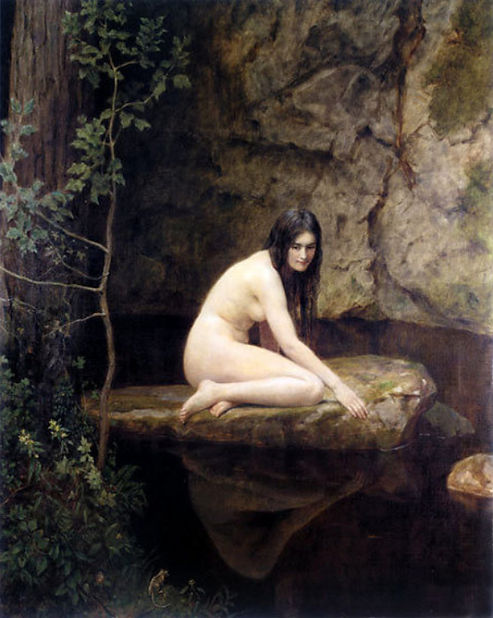 Collier the water nymph