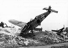 A_downed_German_plane_in_Stalingrad