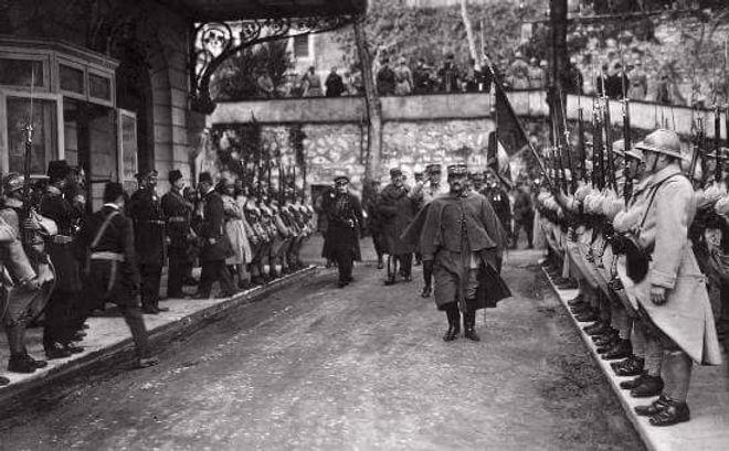 French Comander in Beyoglu